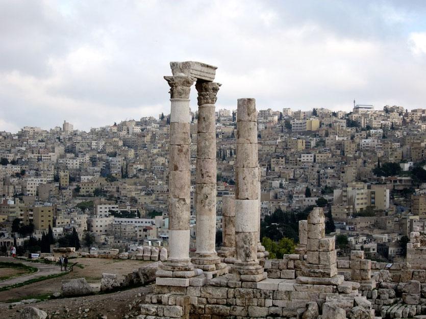 Auf dem Zitadellenhügel Amman