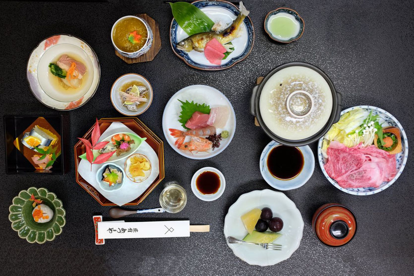 tipp best Kaiseki Menu Yunomine Ryokan Adumaya in Yunomine Kumano Kudo