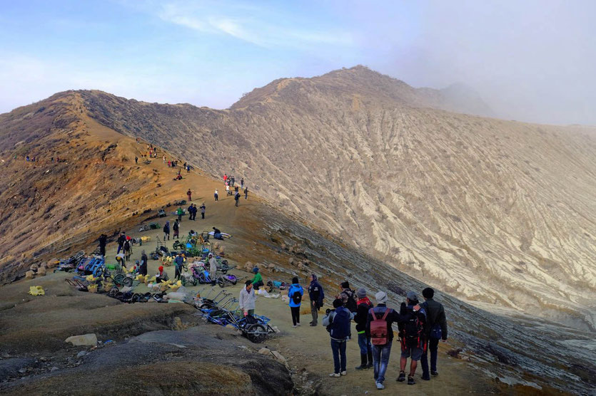 Mount Ijen Tour Vie Point Ijen besteigen ohne guide