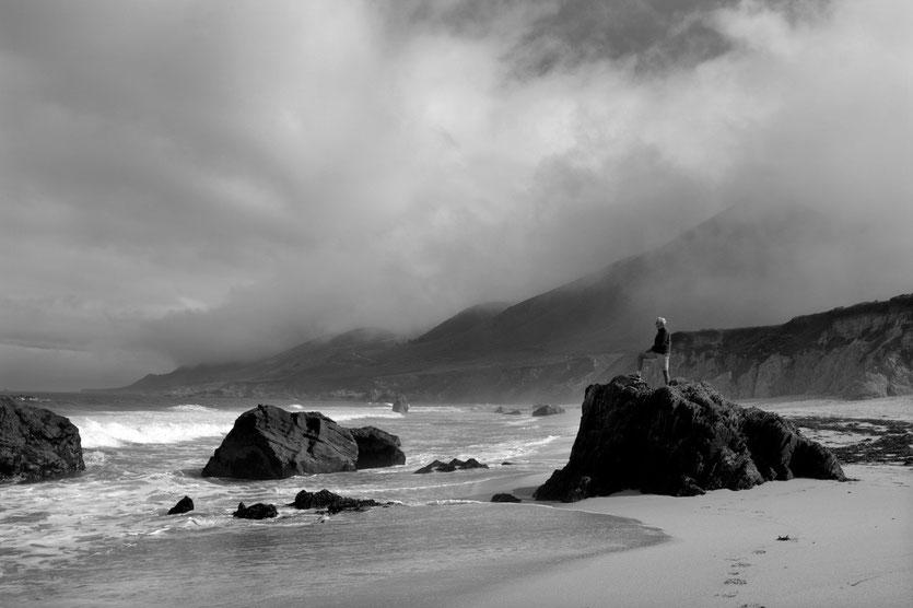 Garrapata Beach, Pacific Coast Highway No 1