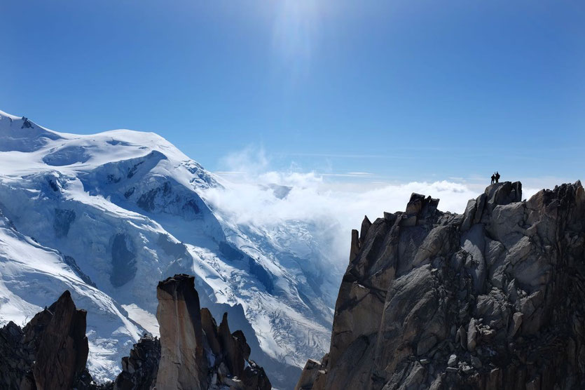 Mont Blanc Bergstation Aiguille du Midi Chamonix