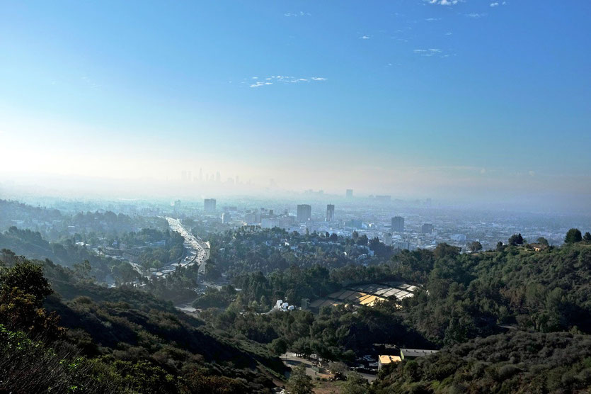 Hollywood Bowl Overlook, Mulholland Drive, Los Angeles