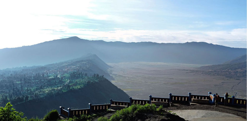 trek nearest View Point Bromo zu Fuß