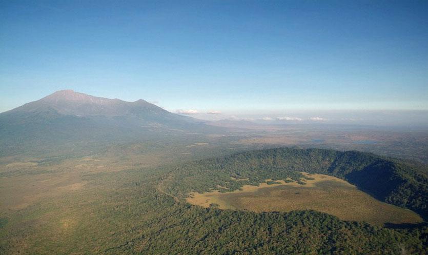 Ngurdoto Krater Arusha Nationalpark
