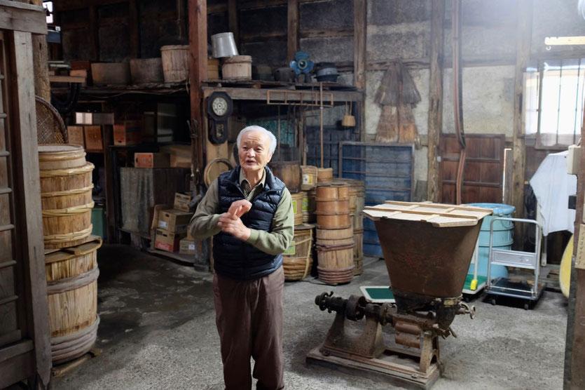 historische Miso-Herstellung, Yuasa Japan Japan