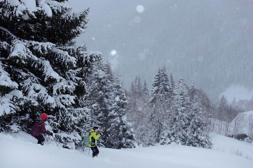 Schneeschuhwandern Leogang