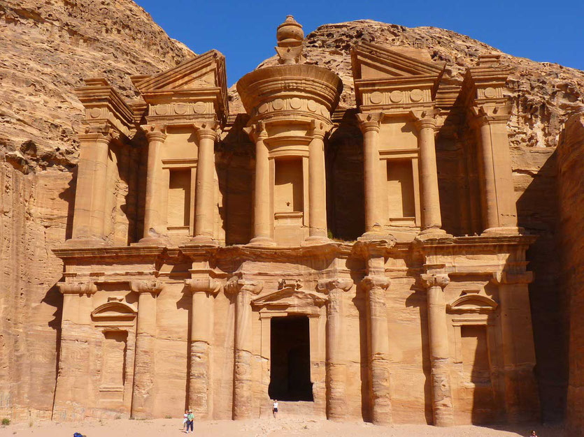 GRABTEMPEL ED-DEIR, Petra Jordanien