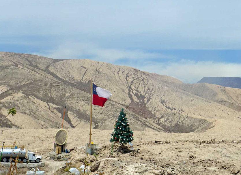 Animita Gedenkstätte an Chiles Straßen