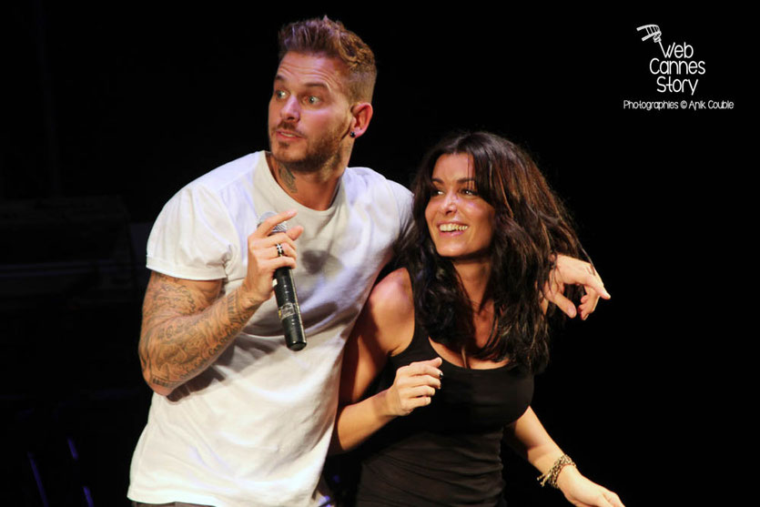 M Pokora et Jenifer - Foot concert - Lyon  2012 - Photo © Anik COUBLE