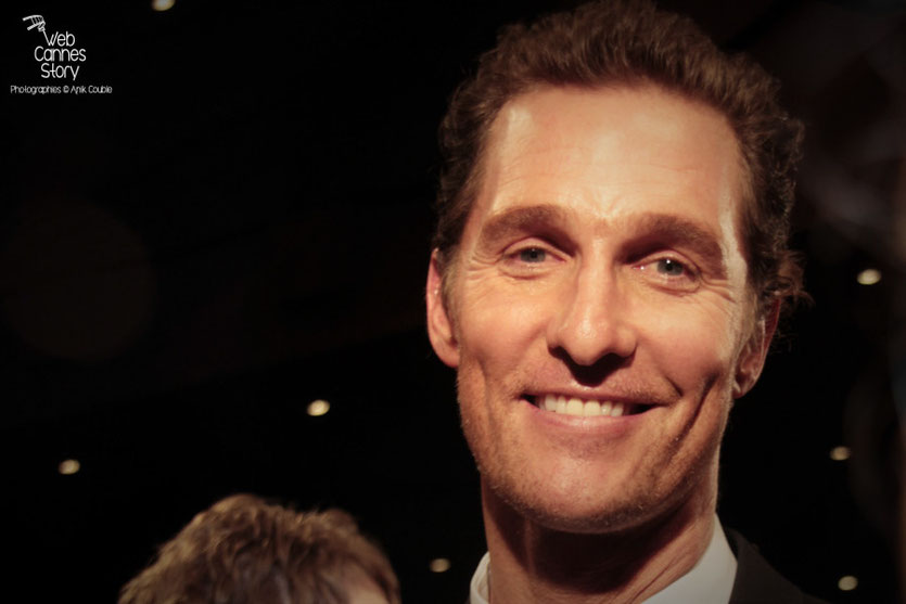 "Matthew McConaughey, lors de la projection du film ""Mud"" de Jeff Nichols - Festival de Cannes 2012 - Photo  © Anik Couble"