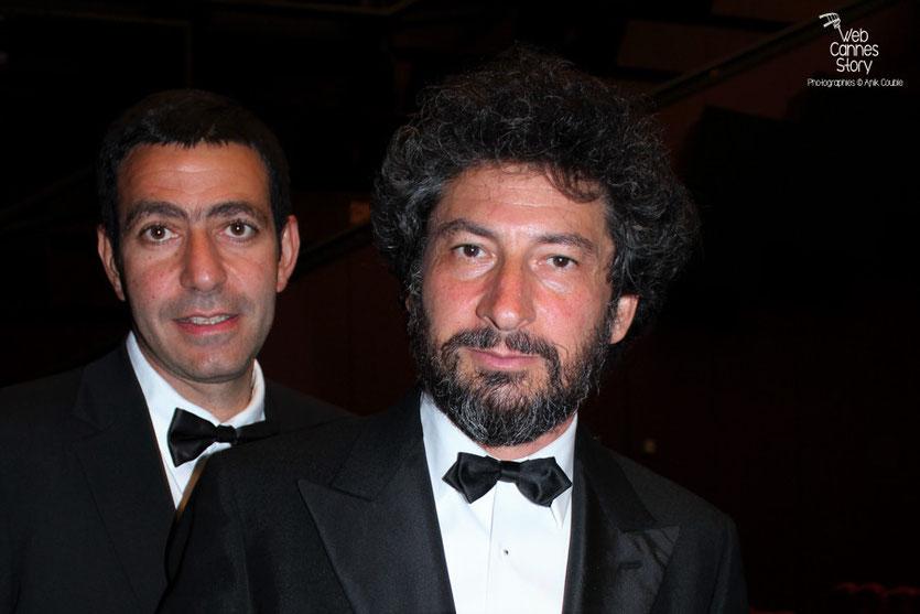 "Radu Mihaileanu,  lors de la projection du film  ""La Piel que Habito"" de Pedro Almodovar - Festival de Cannes 2011 - Photo  © Anik Couble"