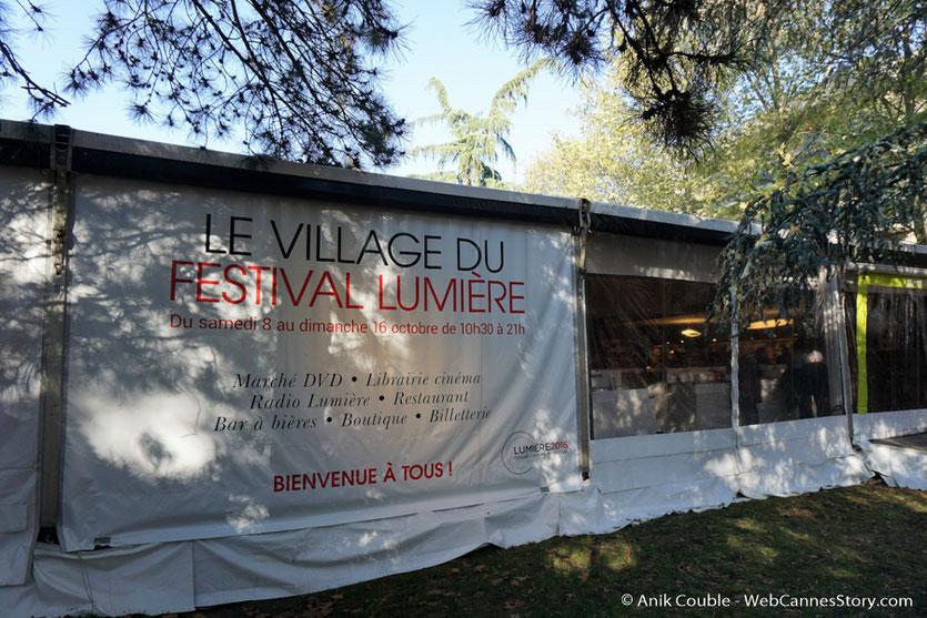 Le village du Festival Lumière - Festival Lumière 2016 - Lyon - Photo © Anik Couble