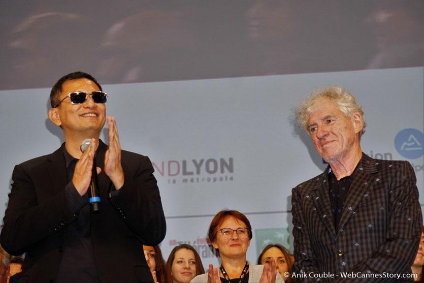 Wong Kar-Wai et Christopher Doyle, son chef opérateur - Clôture du Festival Lumière 2017 - Lyon - Photo © Anik Couble