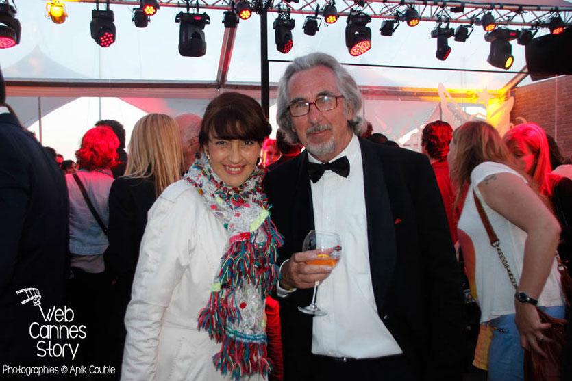 Rona Hartner et Robert Barnoin -Terrazza Martini - Festival de Cannes 2013 © Anik COUBLE