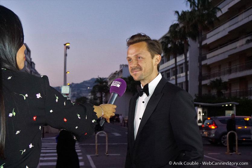 Martin Solveig, lors du dîner de gala de la Fondation Positive Planet et de la remise des prix de la Positive Cinema Week 2017 - Festival de Cannes 2017 - Photo © Anik Couble