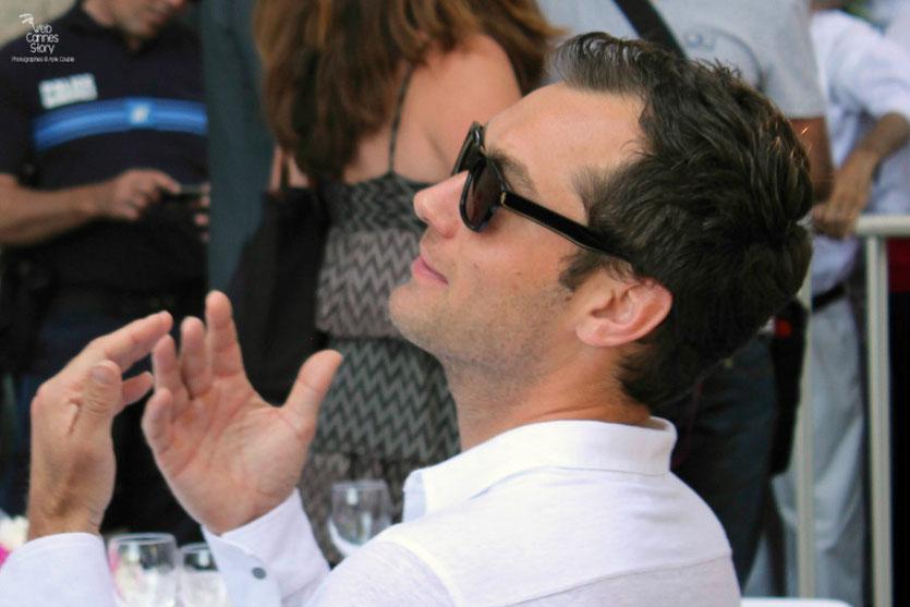 Jude Law,  membre du Jury,  lors du traditionnel déjeuner de presse, offert par le maire de Cannes - Festival de Cannes 2011 - Photo © Anik Couble