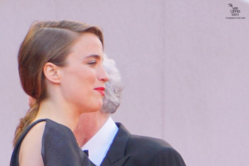 """Adèle Haenel, lors de la projection du film """" La fille inconnue """" de Jean-Pierre et Luc Dardenne - Festival de Cannes 2016 - Photo © Anik Couble"""