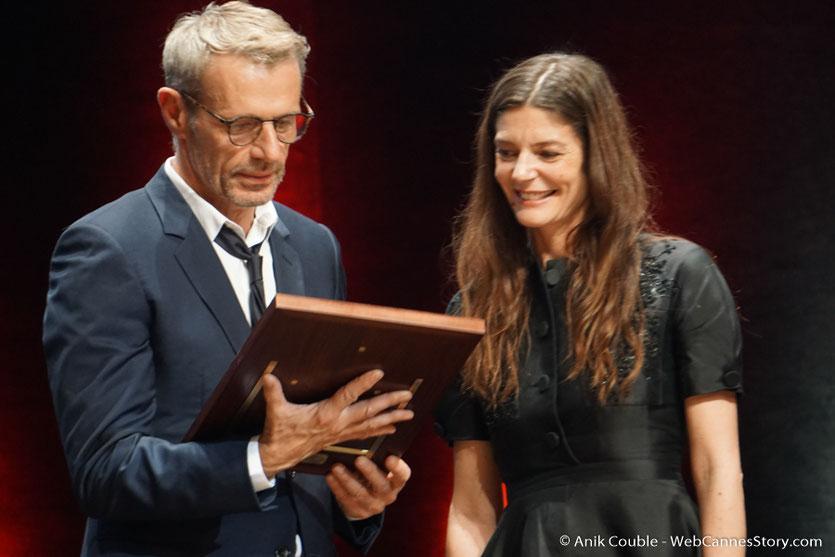 Lambert Wilson et Chiara Mastroïanni - Cérémonie de remise du Prix Lumière - Amphitheâtre 3000 - Lyon - Oct 2016  - Photo © Anik Couble