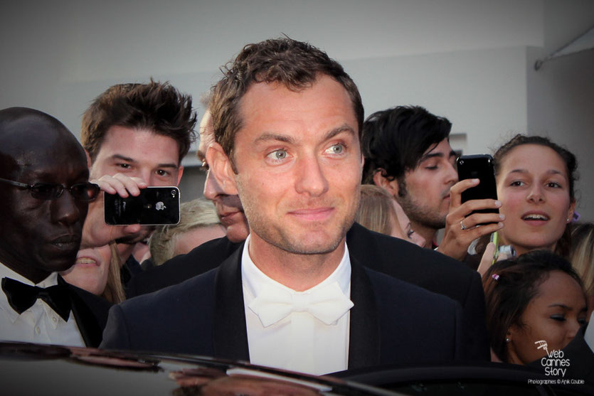 Jude Law, membre du Jury - Festival de Cannes 2011 - Photo © Anik Couble