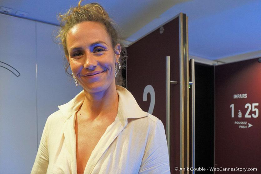 Cécile de France, lors de la cérémonie d'ouverture, du Festival de Cannes 2018 - Photo © Anik Couble