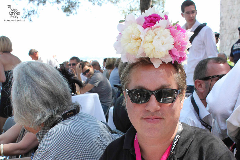Mon blogueur préféré, Hugo Meyer du Blogreporter, lors du traditionnel déjeuner de presse, offert par le maire de Cannes - Festival de Cannes 2011 - Photo © Anik Couble