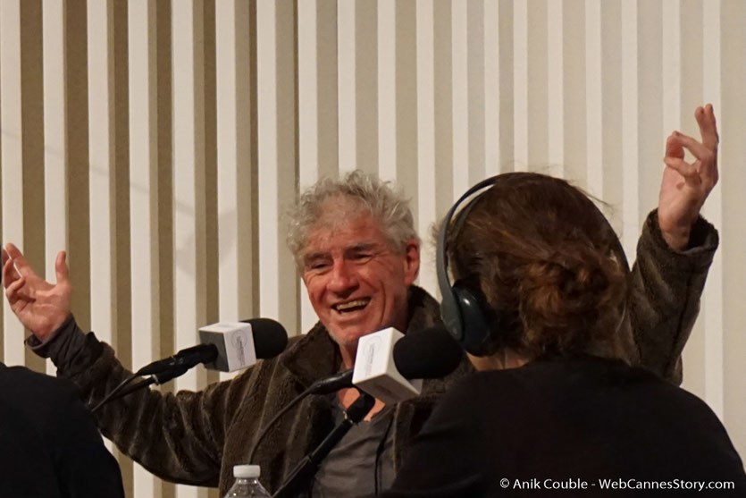 """Christopher Doyle,  invité de """"La Grande Emission"""" de Radio Lumière - Festival Lumière 2017 - Lyon - Photo © Anik Couble"""