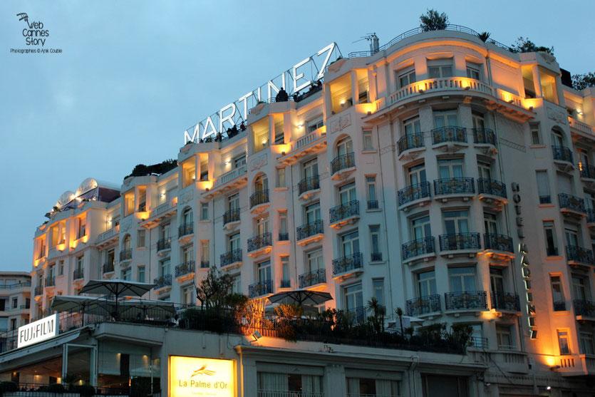 L'Hôtel Martinez - Festival de Cannes 2011 - Photo © Anik Couble