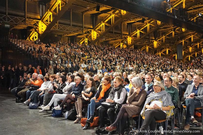 Le  public de la Halle Tony Garnier de Lyon  - Clôture du Festival Lumière 2017  - Photo © Anik Couble