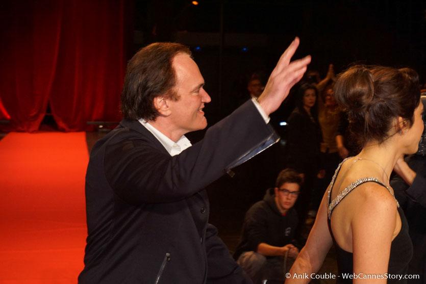 Quentin Tarantino et Daniella Pick - Cérémonie d'ouverture - Festival Lumière 2016 - Lyon - Photo © Anik Couble