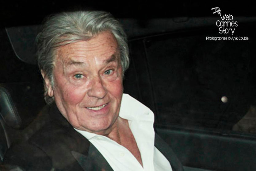 Alain Delon - Festival de Cannes 2013 - Photo © Anik Couble