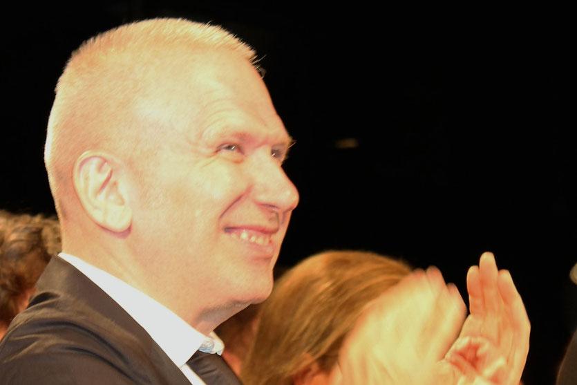 """Jean-Paul Gaultier,  lors de la projection du film  """"La Piel que Habito"""" de Pedro Almodovar - Festival de Cannes 2011 - Photo  © Anik Couble"""
