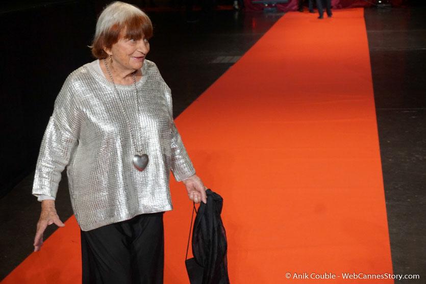 Agnès Varda - Cérémonie d'ouverture - Festival Lumière 2016 - Lyon - Photo © Anik Couble
