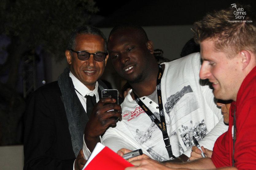 Abderrahmane Sissako,  Président du  Jury de la Cinéfondation et des Courts métrages - Festival de Cannes 2015  - Photo © Anik Couble