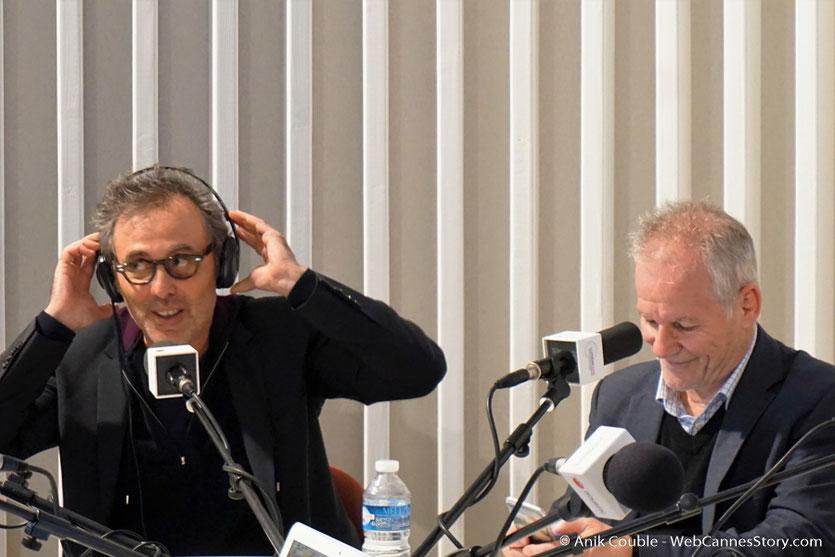 Gilbert Melki et Thierrry Frémaux -  Radio Lumière - Festival Lumière 2016 - Lyon - Photo © Anik Couble