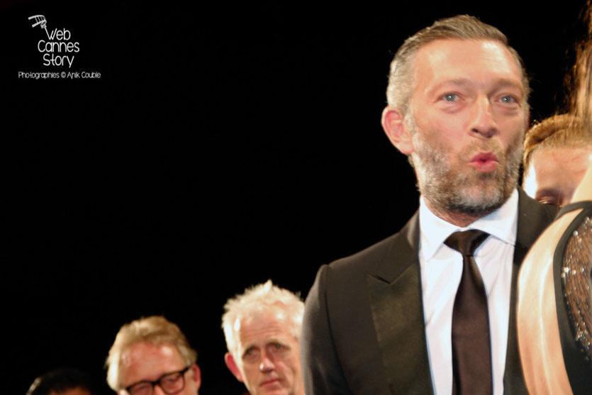 """Vincent Cassel, lors de la projection de """"Mon roi"""" de Maïwenn - Festival de Cannes 2015 - Photo © Anik COUBLE"""