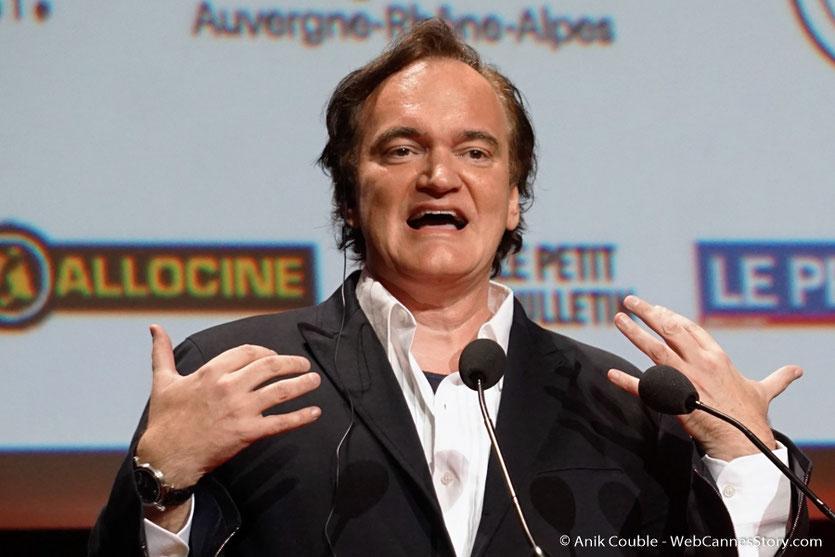 Quentin Tarantino - Cérémonie de remise du Prix Lumière - Amphitheâtre 3000 - Lyon - Oct 2016  - Photo © Anik Couble