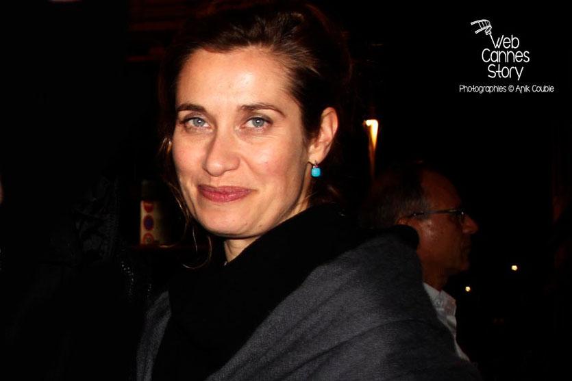Emmanuelle Devos - Festival Lumière - Lyon - Octobre 2013 - Photo © Anik COUBLE