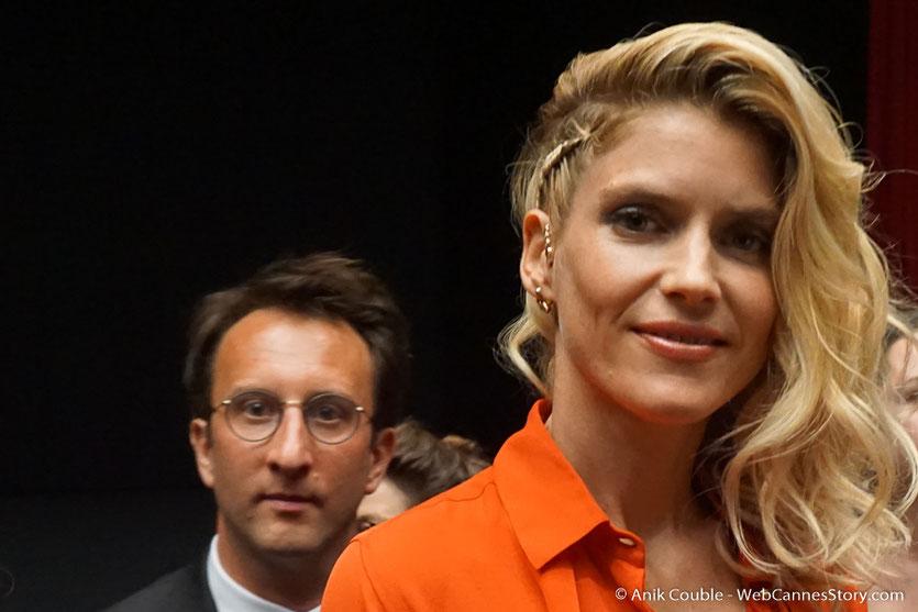 Alice Taglioni, lors de la cérémonie d'ouverture, du Festival de Cannes 2018 - Photo © Anik Couble