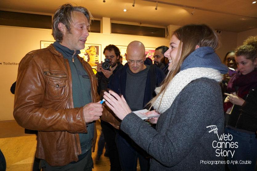 Mads Mikkelsen, à la rencontre de son public - Festival Lumière 2015 - Lyon - Photo © Anik COUBLE