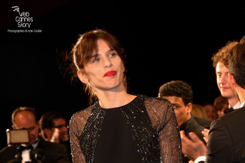 "Maïwenn, lors de la projection de son film  ""Mon roi"" - Festival de Cannes 2015 - Photo © Anik COUBLE"