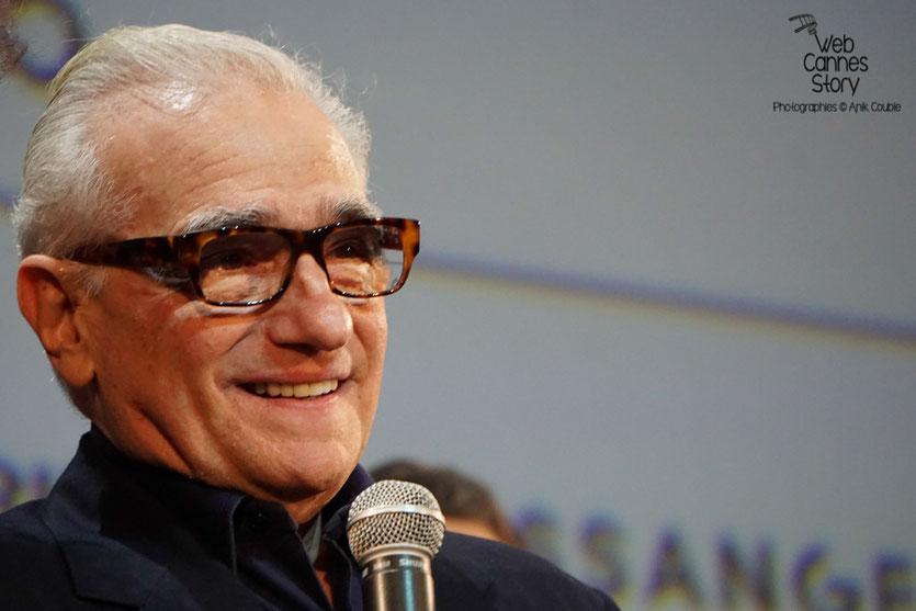 Martin Scorsese  et Salma Hayek - Festival Lumière 2015 - Photo  © Anik COUBLE