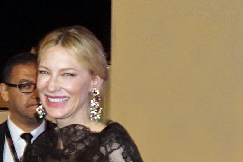Cate Blanchett, sublime et rayonnate présidente du jury du Festival de Cannes 2018 - Photo © Anik Couble