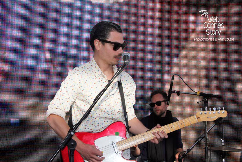 "Benjamin Cotto, du groupe ""Lilly Wood and the Prick"" - Terrazza Martini - Festival de Cannes 2013 - Photo © Anik COUBLE"