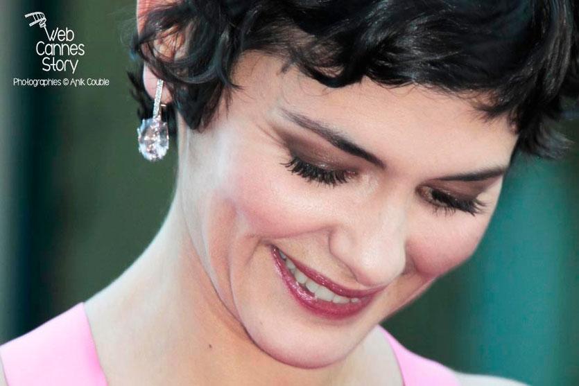 Audrey Tautou, Maîtresse de Cérémonie - Festival de Cannes 2013 © Anik COUBLE
