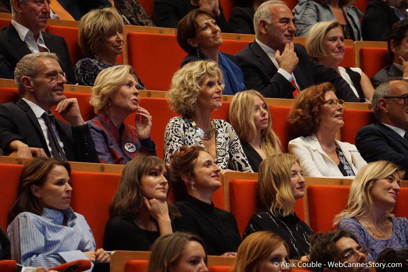 Jane Fonda, au milieu des invités de la Cérémonie de Remise du Prix Lumière - Festival Lumière 2018 - Lyon - Photo © Anik Couble