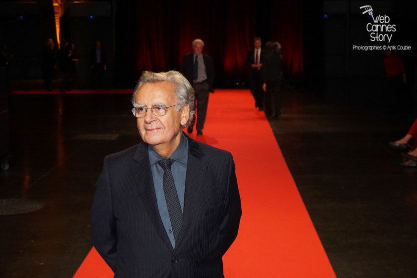 Bernard Pivot, lors de la cérémonie d'ouverture du Festival Lumière 2015 - Lyon - Photo © Anik COUBLE