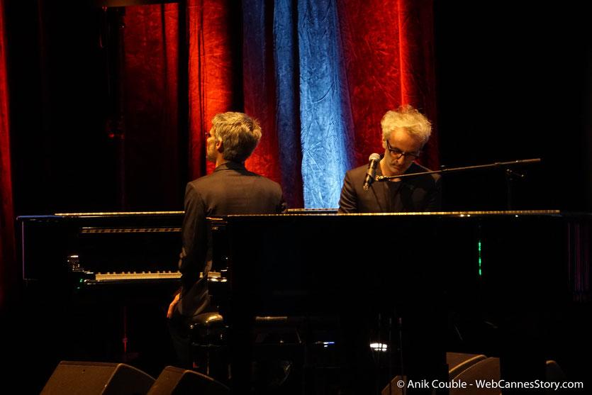 Vincent Delerm, interpretant mon manège à moi d'Edith Piaf,  lors de la Cérémonie de Remise du Prix Lumière - Festival Lumière 2018 - Lyon - Photo © Anik Couble
