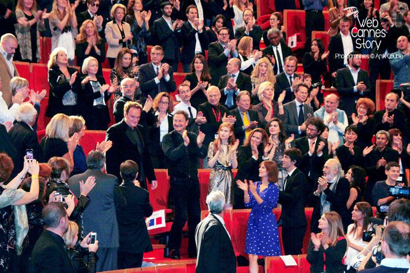 Remise du Prix Lumière à Quentin Tarantino - Festival Lumière - Lyon - Oct 2013 - Photo © Anik COUBLE