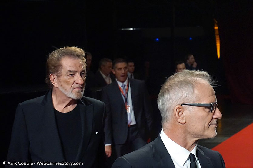 Quentin Tarantino et Daniela Pick - Tapis rouge de la cérémonie d'ouverture - Festival Lumière 2016 - Lyon - Photo © Anik Couble