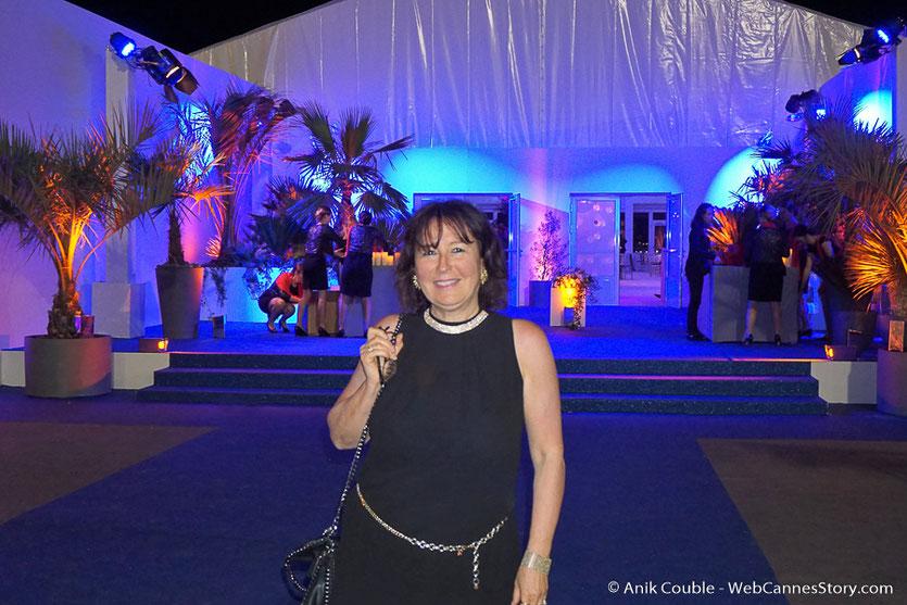 Clap de fin de la merveilleuse soirée d'ouverture du Festival de Cannes 2018  - Photo © Anik Couble
